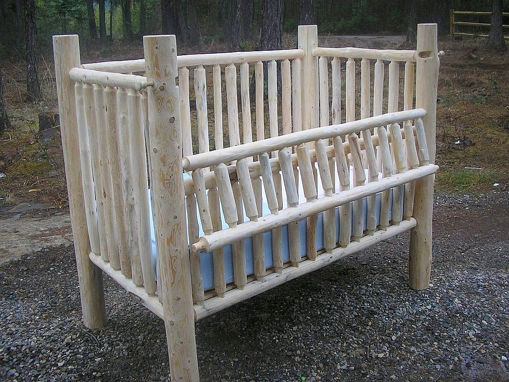 Genial Handmade Crib Converts To Toddler Bed And Full Size Bed